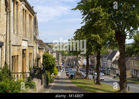 The main street in the cotswold town of winchcombe for Main architectural styles