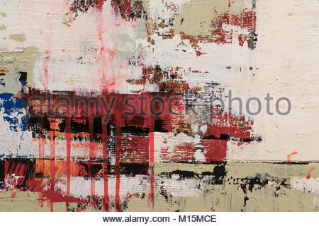 Abstract oil painting background. Oil on canvas. Hand drawn oil painting.Color texture. Fragment of artwork. Brushstrokes - Stock Photo