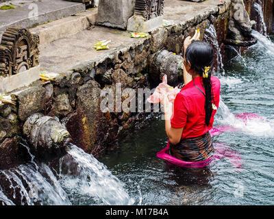 Bathing on the river banks of Chambal river, Madhya