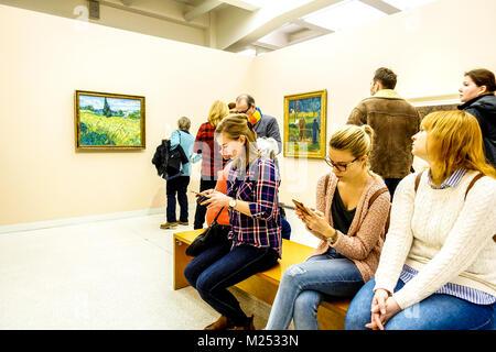 Vincent van Gogh, Veletrzni palac, National Gallery, Prague Holesovice, Czech Republic - Stock Photo
