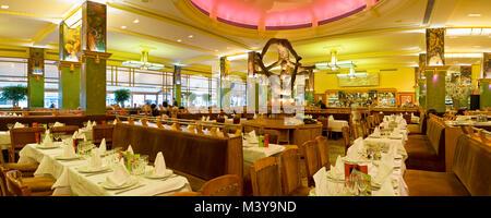 France, Paris (75), Montparnasse District, La Coupole Restaurant - Stock Photo