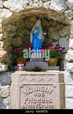 grotto bellevue virgin pa blessed