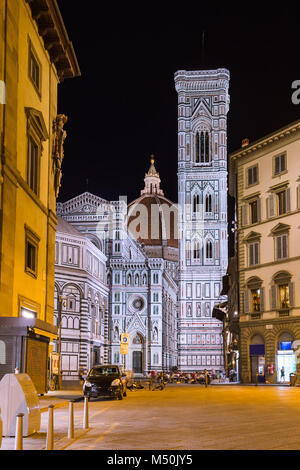 Duomo in Florence - Italy - Stock Photo