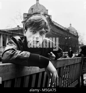 Mark Edward Smith, 5 March 1957 – 24 January 2018, MES, Mark E Smith,  English singer and songwriter. He was best - Stock Photo