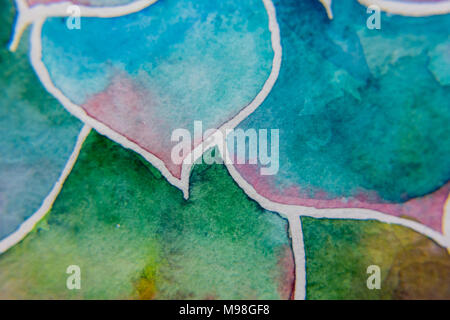 Abstract macro photo of piece of flower's petal - Stock Photo