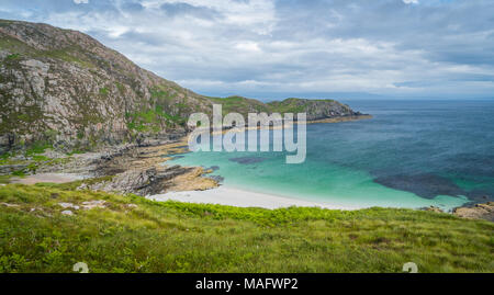 Scenic landscape in Point of Sleat, the southernmost point of Skye. Scotland. - Stock Photo