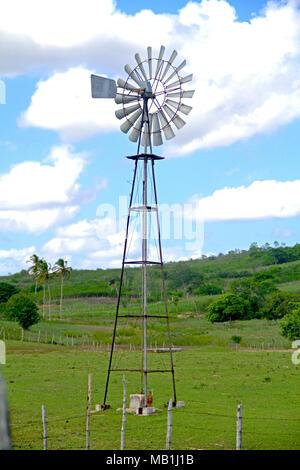 Eolic Energy,  Paraiba, Brazil - Stock Photo