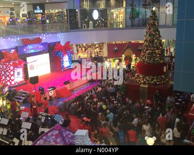 Air Asia, Quezon City, Metro Manila, Philippines. 06th Nov, 2015. SM North, the fifth largest mall in the world - Stock Photo