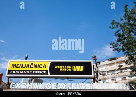 Western union money transfer office bureau in lisbon lisboa stock