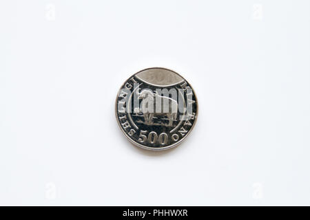 Tanzanian Coins On A White Background Stock Photo 177652957 Alamy