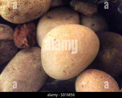 Pebbles and stones - Stock Photo