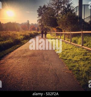 Trail walk - Stock Photo