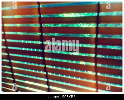 Venetian blinds. - Stock Photo