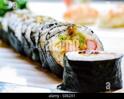 California sushi roll - Stock Photo