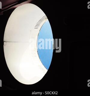 Abstract elliptical skylight - Stock Photo