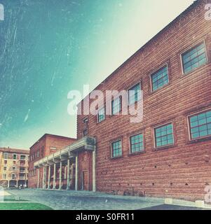 Cremona Palazzo dell 'Arte building now Museo del Violino - Stock Photo