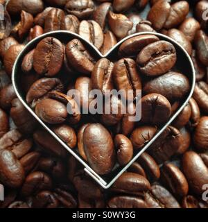 Love coffee - Stock Photo