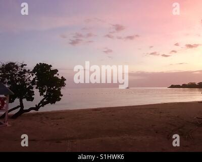 Jamaican Sunset - Stock Photo