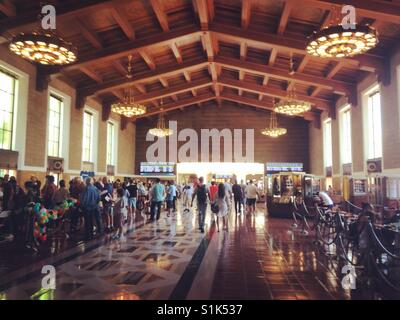 Union Station, Los Angeles, California - Stock Photo