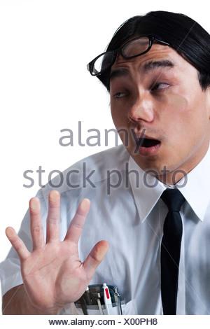 Business man walking into glass door stock photo 28700696 alamy business man walking into glass door stock photo planetlyrics Choice Image
