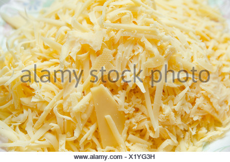 grated cheese - Stock Photo