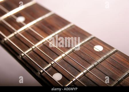 Akustische Gitarre abstrakt - Stockfoto