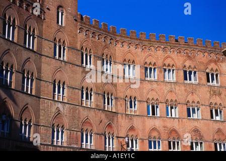 Fassade des Gebäudes - Stockfoto
