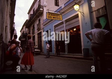 Bodeguita del Medio La Habana Cuba - Stockfoto