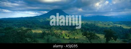 Der Vulkan Arenal Zona Norte Costa Rica - Stockfoto