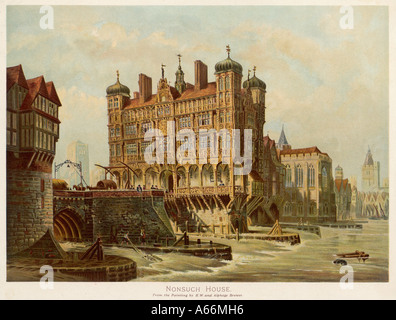 London Bridge Nonsuch Hs - Stockfoto