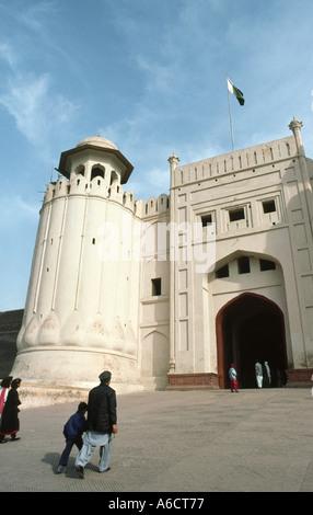 Pakistan Punjab Lahore Lahore Fort gateway - Stockfoto