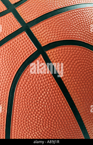 Basketball hautnah - Stockfoto