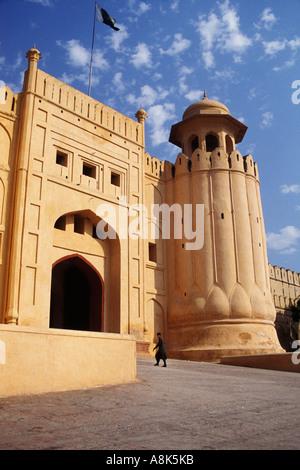 Pakistan, Lahore, Alamgiri Gatter, Lahore Fort - Stockfoto