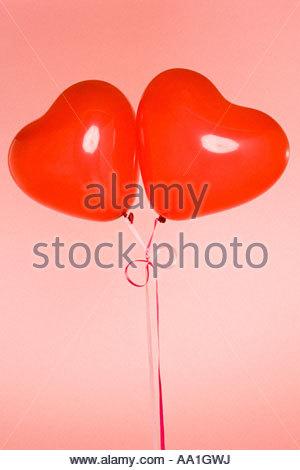 Herzballon Form - Stockfoto