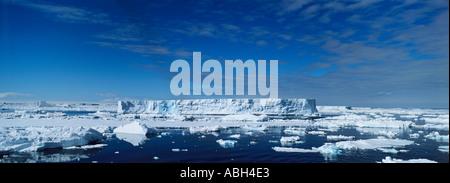 Eisberge in der Antarktis Weddell-Meer - Stockfoto