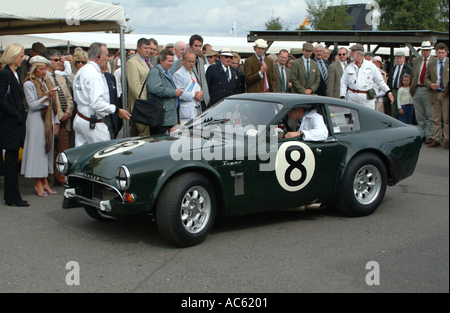 Sunbeam Lister tiger Sportwagen Motorsport Goodwood Revival Meeting 2003 West Sussex England Vereinigtes Königreich - Stockfoto