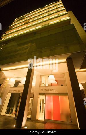 Fresh hotel athen griechenland stockfoto bild 17420886 for Griechenland design hotel
