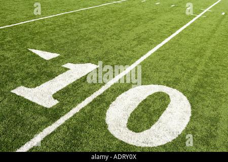 10-Yard-Linie - Stockfoto