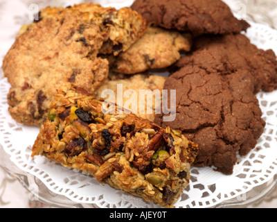 Hausgemachte Kekse - Stockfoto