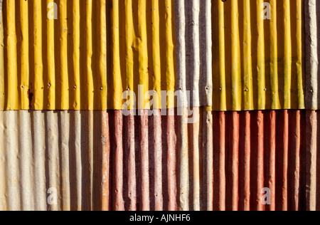 Wellblech, Australien - Stockfoto