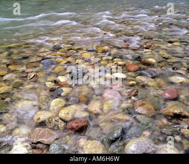 Bunte kieselsteine im oberen tiroler ache chiemgau for Farbige kieselsteine