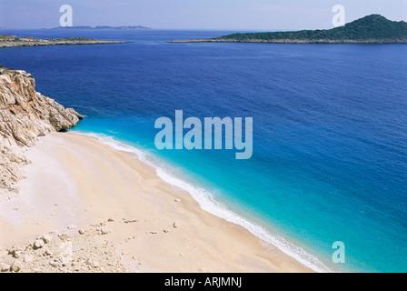 Strand, Kaputas, Lykien, Anatolien, Türkei, Kleinasien, Asien - Stockfoto