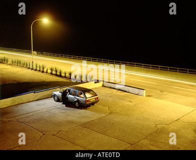 Parkplatz - Stockfoto