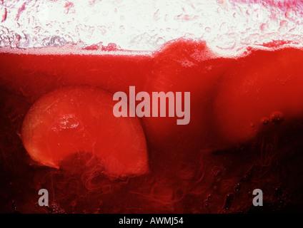 Glas Marmelade, extreme Nahaufnahme - Stockfoto