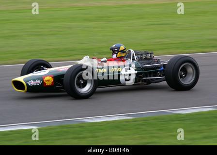 Klassischen Lotus Formel 1 Rennwagen - Stockfoto