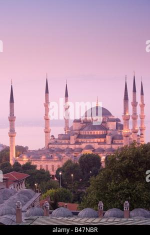 Türkei-Istanbul-Sultan-Ahmed-Moschee, blaue Moschee - Stockfoto