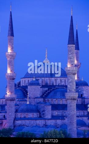 Sultan-Ahmed-Moschee-blaue Moschee-Türkei-Istanbul - Stockfoto