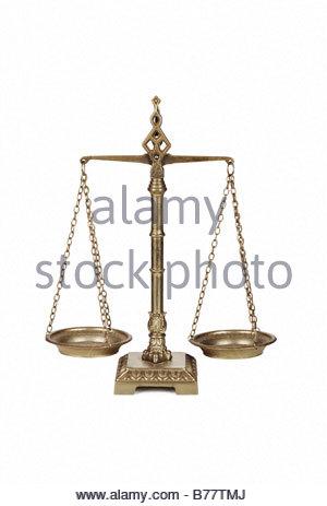Balance-Waage - Stockfoto