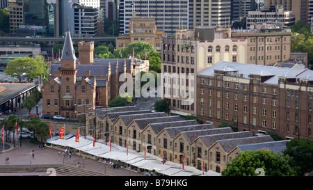 Campbells Lagerhäuser und Australasian Steam Navigation Co., Sydney, Australien - Stockfoto