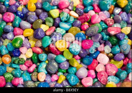 Bunte Rock Kiesel - Stockfoto